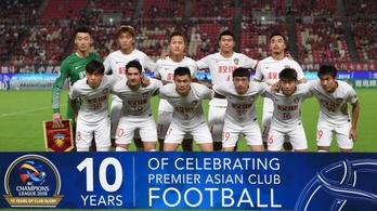 Repedezik a kínai futballszuperliga, megszűnik Paulo Sousa volt csapata