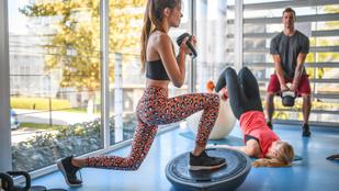 Formás hátsó és láb a leghatékonyabb kitörés segítségével