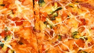Füstölt paprikás édesburgonyából készülhet a kedvenc pizzád alapja