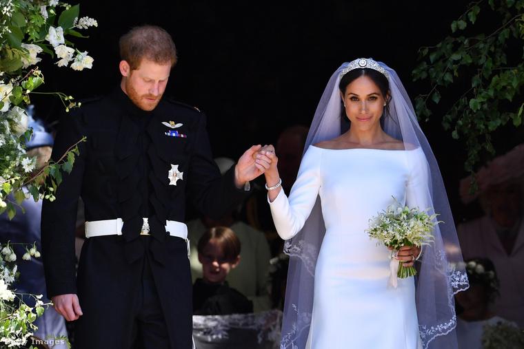 Harry herceg és Meghan Markle esküvője.