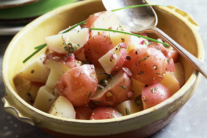 újkrumplisaláta