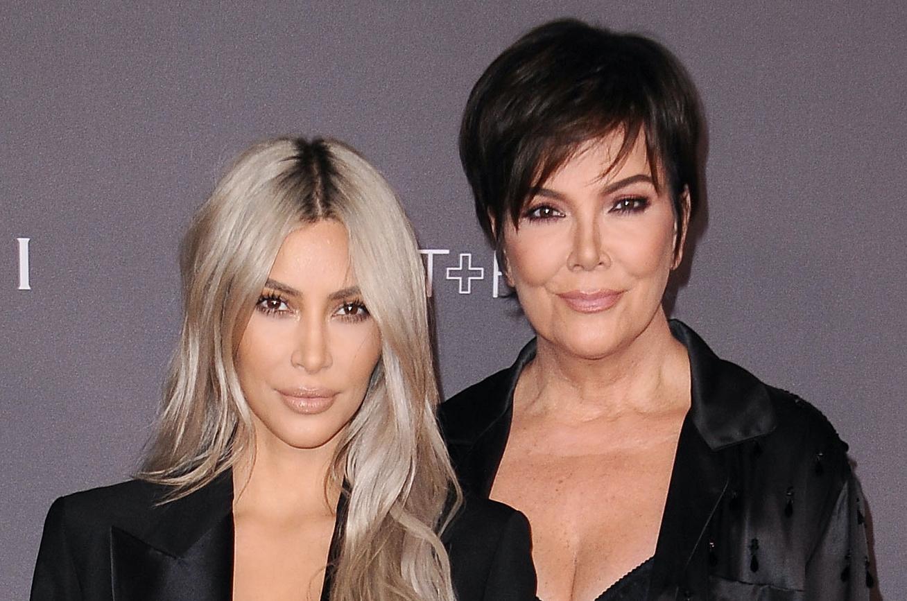 kim kardashian kris jenner cover