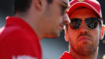Leclerc űzhette el Vettelt a Ferraritól