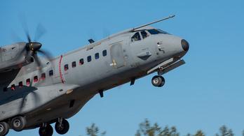 Kényszerleszállást hajtott végre Budapesten egy finn katonai gép