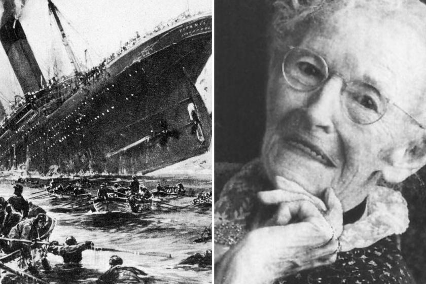 Túlélte a Titanic elsüllyedését és szeptember 11-et is: a világ legszerencsésebb emberének tartották Anna Mae Dickinsont