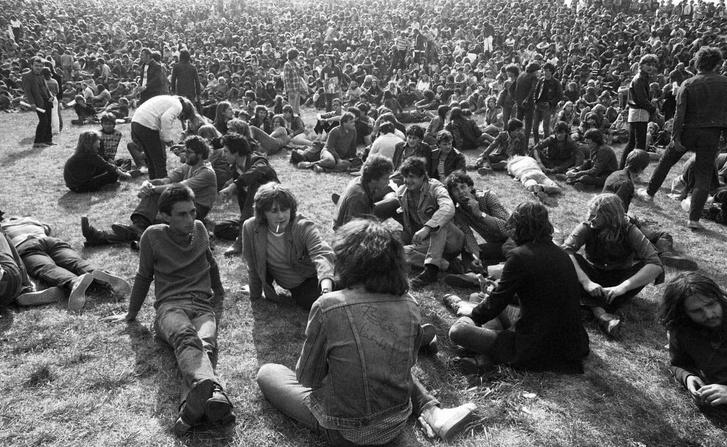 Hajógyári-sziget, Szuperkoncert 1981. augusztus 22-én. Ekkor készült az Egy nap rock, Sántha László és Árvay Jolán koncert-dokumentumfilmje.