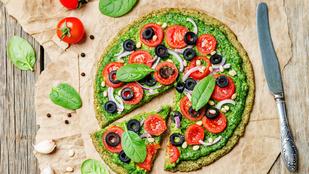 Cukkiniből is készülhet a pizzád alapja, ráadásul bármilyen sajt és fűszer tökéletes mellette