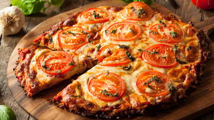 5 egészséges pizzaalap-alternatíva tavaszra