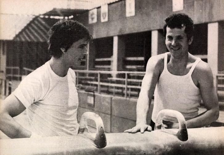 Nem titok - legeredményesebb tornászunk az olimpiával zárni kívánja a maga nemében páratlan sportpályafutását. Tanítvány és edző - Magyar Zoltán és Vigh László - tehát búcsúzni készül. Forrás: Képes Sport 1980. július / Arcanum adatbázis