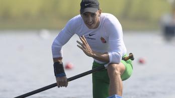 Visszavonult Kiss Tamás kenus, aki Kolonics helyére beugorva lett olimpiai bronzérmes