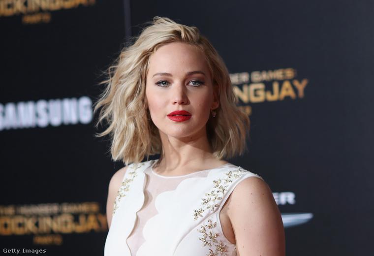 Jennifer LawrenceA 29 éves színésznő is elég népszerű a férfiak körében