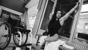 Illés Fanni paralimpikon: meghökkennek, hogy látnak egy láb nélküli lányt, aki nem koldus
