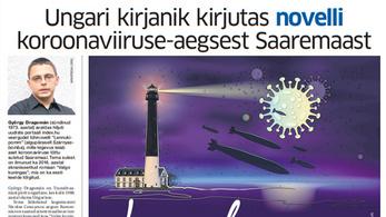 Dragomán írt az Indexnek egy novellát Észtországról, most lehozta észtül egy helyi lap