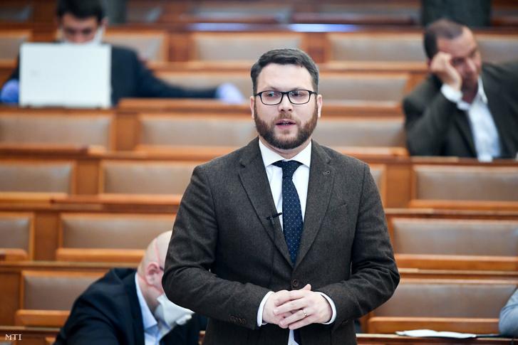 Schanda Tamás az Innvációs és Technológiai Minisztérium parlamenti államtitkára