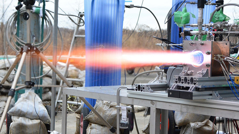 A robbanó rakéta lehet az űrutazás jövője