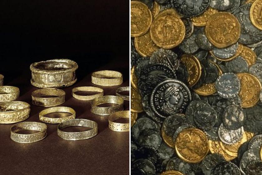 A hoxnei Eric Lawes minden idők legnagyobb római kincsére lelt, melyet valaha Angliában találtak. Elkallódott kalapácsa keresésére indult a fémdetektorával, de sípolása a történelmi értéket jelezte.