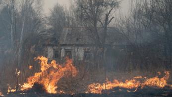Több hét után sikerült eloltani a csernobili erdőtüzet