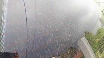 Nagy mennyiségű szaharai por kavarog fölöttünk, sáros eső esett