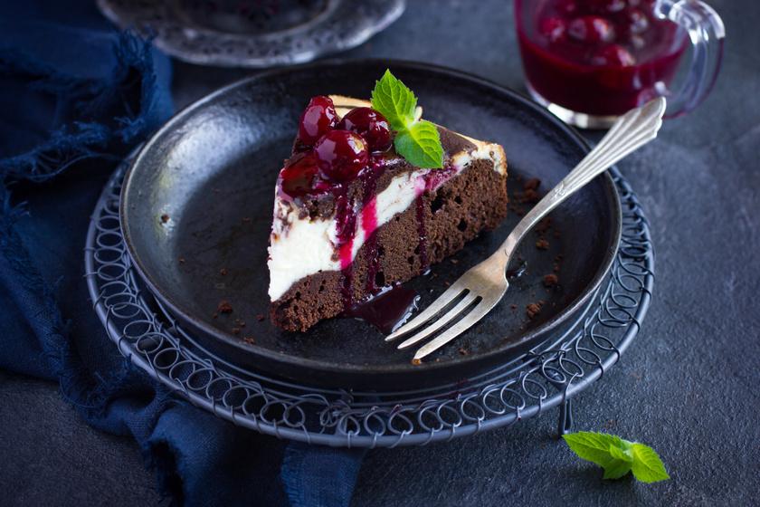 Kétszínű kakaós-túrós kevert süti: egyszerűen nem lehet elrontani