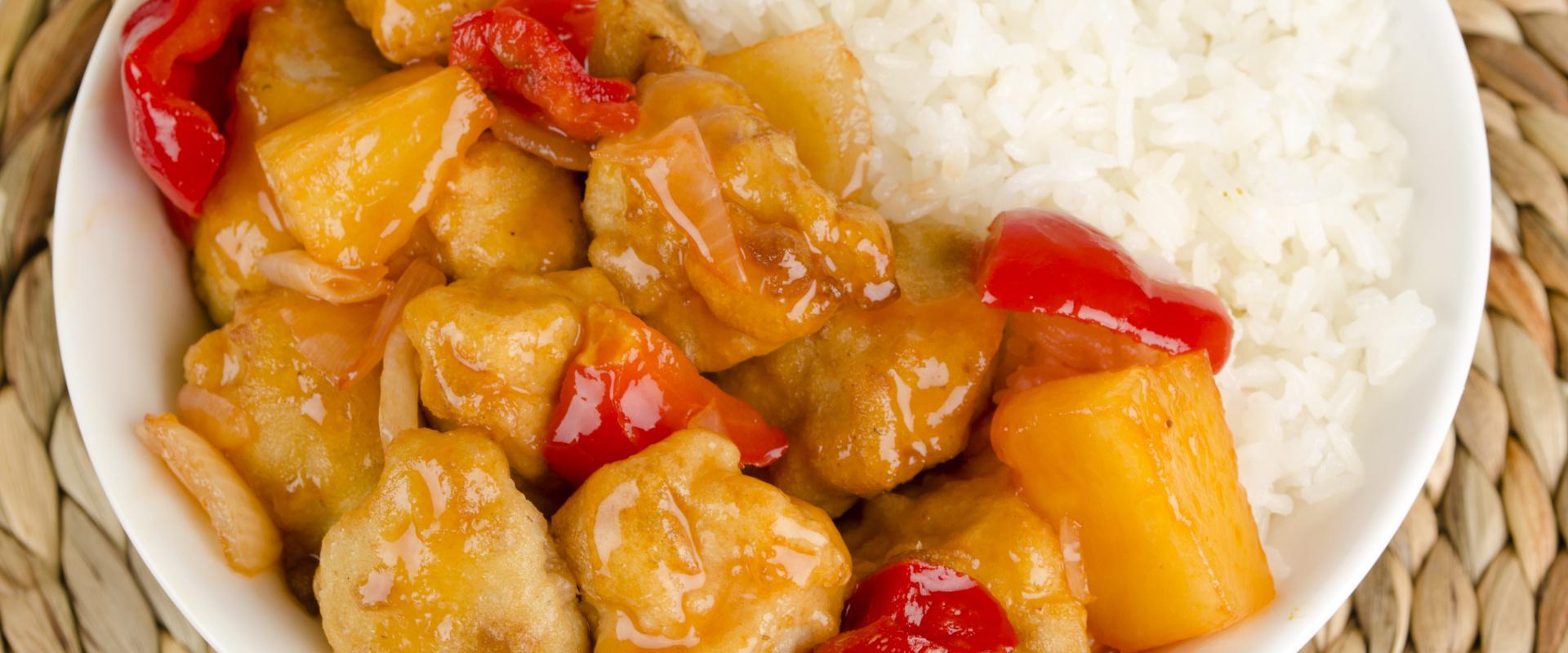 kínai édes savanyú csirke cover
