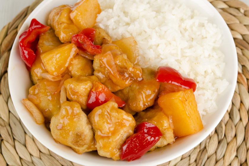 kínai édes savanyú csirke recept