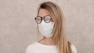 Bepárásodik a szemüveged, ha felteszed a szájmaszkot? Itt a megoldás!