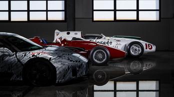 Stirling Moss nevével díszítették fel a Maserati készülő sportkocsiját