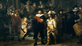 Csúszik a Rembrandt-festmény restaurációja, de online már megnézheti