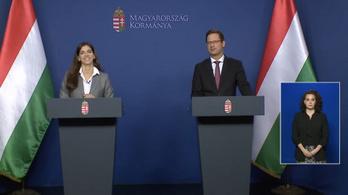 Gulyás Gergely: Pest megyében enyhítenek, Budapestről még nem döntöttek (a teljes kormányinfó)