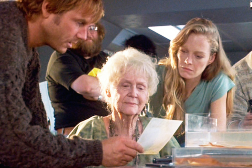 A Titanic idős Rose-a álomszép nő volt fiatalon: ritkán látott felvételeken Gloria Stuart