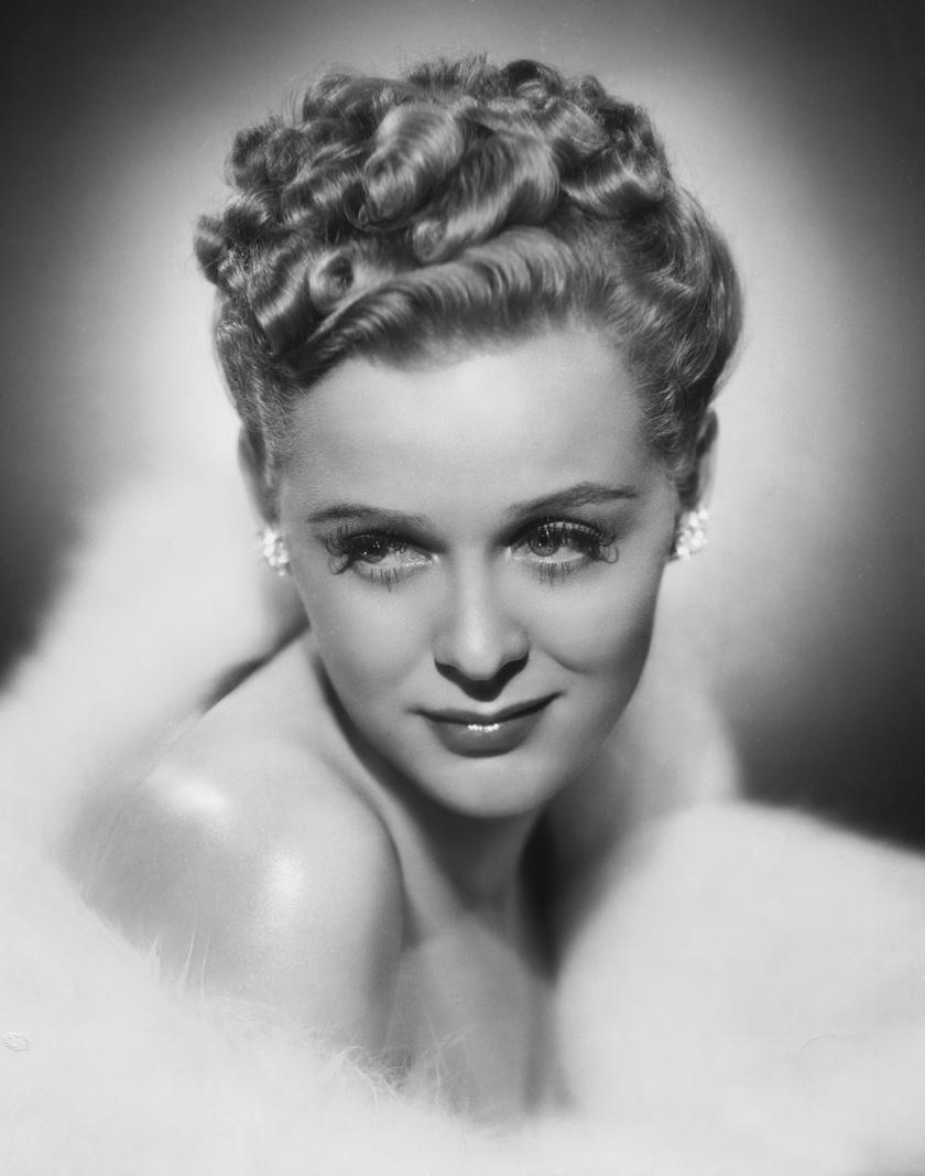 Hollywoodi dívaként pózolt itt Gloria Stuart.