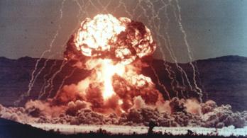 Özönvízszerű esőket okozhattak Nagy-Britanniában a kísérleti atomrobbantások