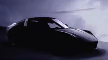 Jövő héten leplezik le a Porsche 911 Targát