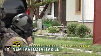 Robotot is bevetett a TEK Fehértón egy osztrák férfi elfogásánál