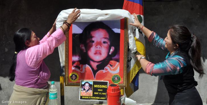 Az eltűnt pancsen láma fényképe 2017-ben