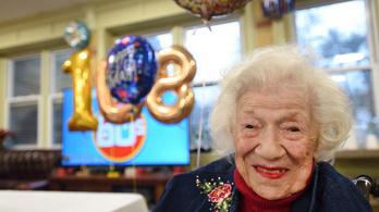 Egy 108 éves nő is felgyógyult a koronavírusból New Jersey-ben