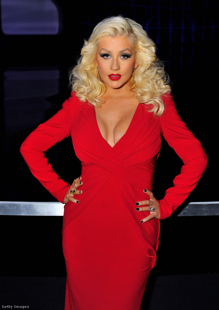 Christina AguileraAz énekesnőegy időben a színdiéta híve volt