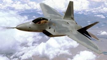 Lezuhant egy F-22 Raptor Floridában