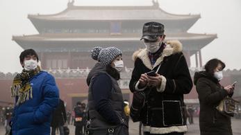 Több mint 12 ezer halált akadályozott meg a koronavírus Kínában a tisztább levegővel