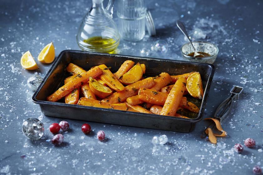 Narancsos, fűszeres sült répa: isteni köret 10 perces munkával