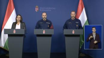 Novák Katalin bejelentése az operatív törzs tájékoztatóján