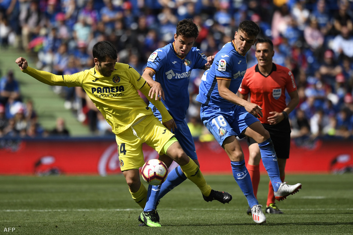 Villareal-Getafe mérkőzés a spanyol ligában 2019. május 18-én