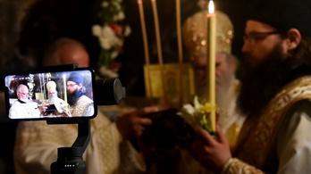 Szabadon engedték a tilalom ellenére miséző montenegrói papokat