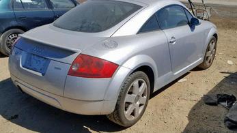 Régi Audi TT-t szabad?