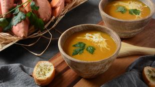 Gyömbéres édesburgonya-leves – nyáron hidegen is finom