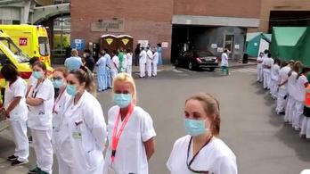 Hátat fordítottak az egészségügyi dolgozók a belga miniszterelnöknek