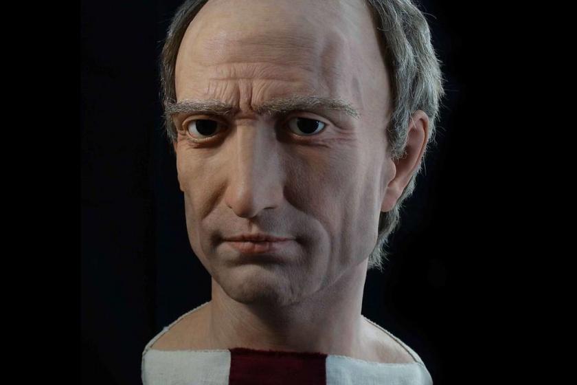 Így nézett ki a valóságban Julius Caesar és Néró: elképesztően élethű lett a reprodukciójuk
