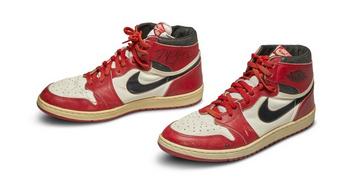 Soha nem fizettek még annyit cipőért, mint Michael Jordan kosárlabdacipőjéért