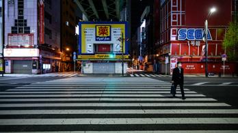 Japánt is visszahúzta a járvány