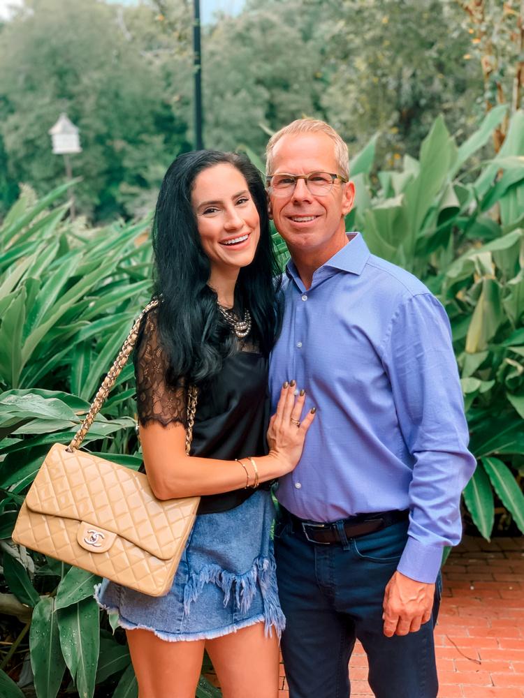 Sophia Spallinónak több mint 1000 mérföldet kellett repülnie még 2018-ban Louisianából, hogy találkozhasson az ohiói férfival.